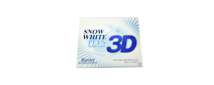 3D Snow White Plus USA Glutathione
