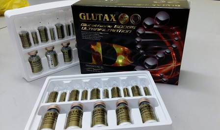 glutathione whitening injections